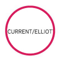 Current Elliot logo in red circle
