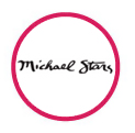 Michael Stars logo in red circle
